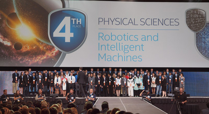 The Intel International Science and Engineering Fair. Source: Press Photo