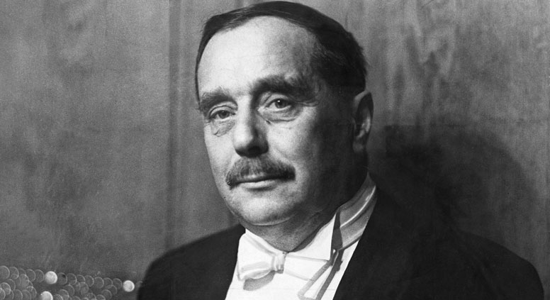H.G. Wells met Lenin, Stalin and had a love affair with Maxim Gorky's former mistress. Source: Ullstein bild /Vostock-Photo