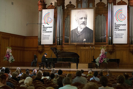 The International Tchaikovsky Competition is held once every four years. The first, in 1958, included two disciplines – piano and violin. Source: Press photo