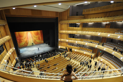 The new stage of the Mariinsky Theater. Source: TASS