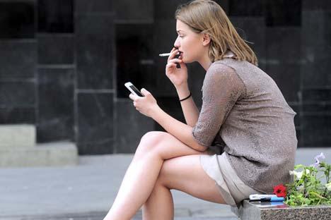 Fumantes correspondem a 33% da população russa