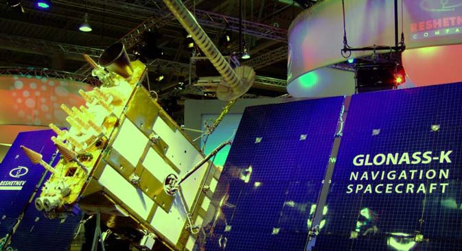 The new generation GLONASS series of devices will be created on the basis of the GLONASS-K1 satellite. Source: Press photo