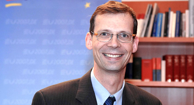 Uwe Corsepius, General Secretary of the Council of the European Union, is banned from visiting Russia, according to the Moscow's blacklist. Source: DPA / Vostockphoto
