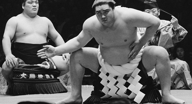 Sumo wrestling legend Taihō Kōki. Source: AFP/East news