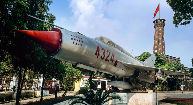 MiG-21 in Vietnam. Source: Photoshot / Vostock-photo
