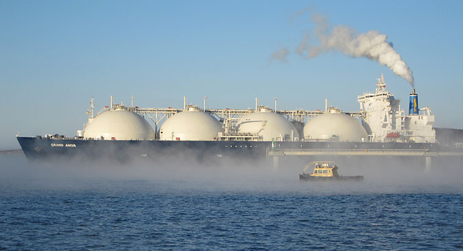 Japan may get more LNG from Sakhalin-2. Source: Alexander Semenov/TASS