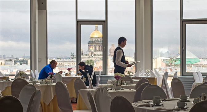 The restaurant at the Ambassdor hotel has already put Pushkin shchi on its permanent menu along with the blini of Arina Rodionova, Pushkin's nanny, which were immortalized in Russian literature. Source: Press photo