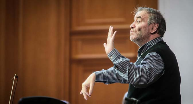 "Valery Gergiev: ""I find it necessary, interesting and exciting to discover new talent."" Source: EPA"