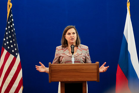 U.S. Assistant Secretary of State Victoria Nuland.