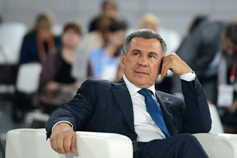 Tatarstan's president seeks to strengthen regional investment profile