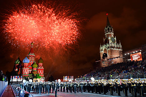 14 countries to participate in military band festival on Red Square