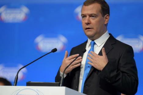 Dmitry Medvedev.