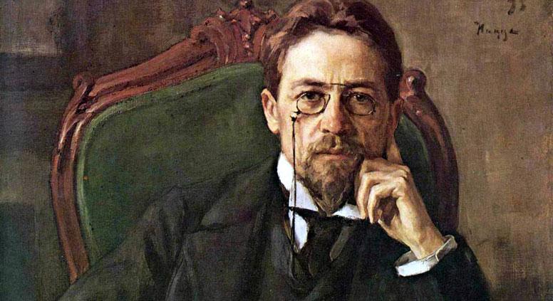 Anton Chekhov by Osip Braz, 1898. Source: wikipedia.org