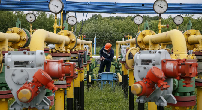 Gazeta.ru: Russian gas has no alternative to transit through Ukraine. Source: Reuters