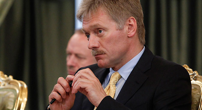 Organization of a meeting between President of Russia and of the U.S. will take months - Peskov.