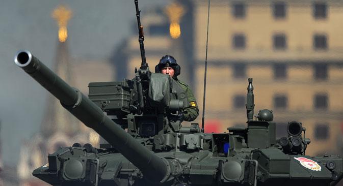 T-90 tank. Source: Sergey Karpov