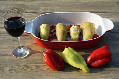 Stuffed peppers. Source: Anna Kharzeeva