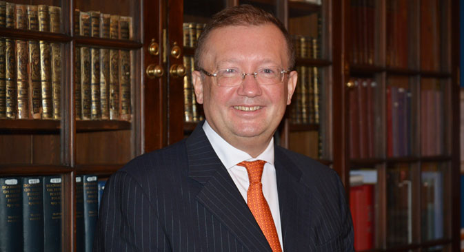 Russian Ambassador to the UK Alexander Yakovenko. Source: RIA Novosti