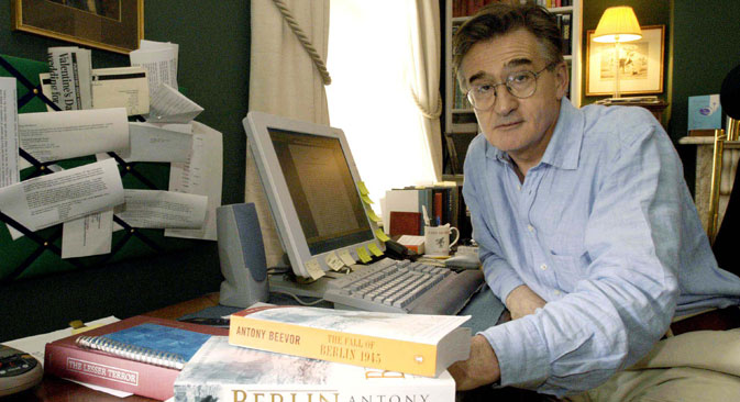British writer Antony Beevor is regarded as one of the world's leading military historians and has won wide acclaim for his books, including 'Stalingrad.' Source: EPA