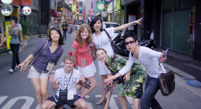 University students in South Korea. Photo: http://eng.vvsu.ru