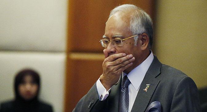Najib Razak. Source: Reuters