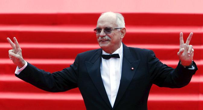 Russian Director Nikita Mikhalkov. Source: Reuters
