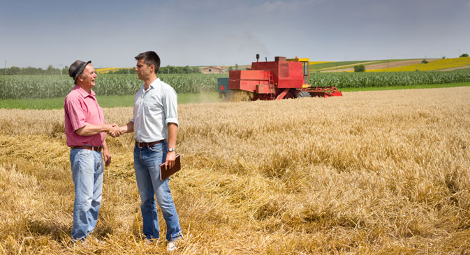 Beginning farmers to receive 1.5 million rubles from the state. Source: Shutter Stock/Legion Media