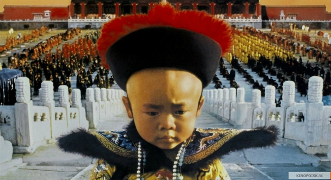 A still from The Last Emperor. Bernardo Bertolucci's film familiarised Western audiences with Pu Yi's life. Source: Kinopoisk.ru