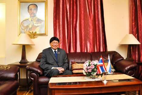 Dr, Itti Ditbanjong, Ambassador of Thailand to Russia. Source: Gleb Fedorov