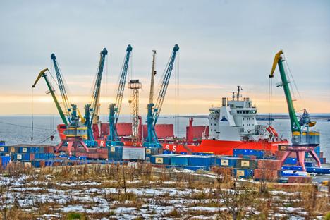 Dudinka on the Yenisei: The path to Norilsk and the Taimyr Peninsula