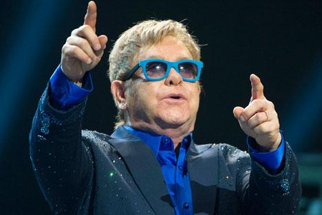 On Sept. 24 the Kremlin announced that Putin called Elton John.