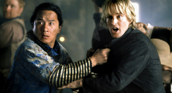 The Jackie Chan and Owen Wilson starrer Shanghai Noon was set in the time period when Russian exiles lived in the Chinese metropolis. Source: Kinopoisk.ru