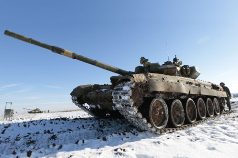 Russia is testing 20 new tanks.