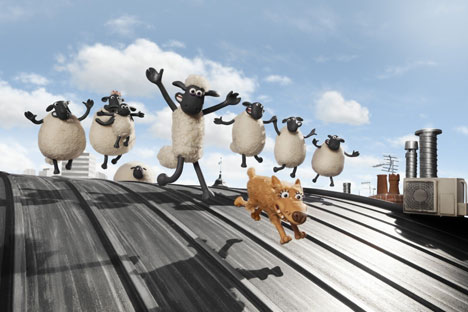 Several sheeps run away during the Islamic holiday. Source: kinopoisk.ru