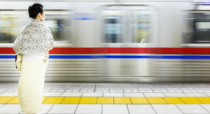 The underground is the most reliable way to travel in urban Japan. Source: Flickr/ Loïc Lagarde