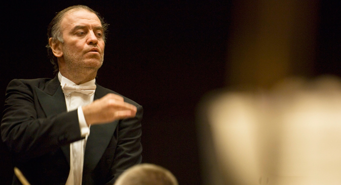 Valery Gergiev. Source: Alberto Venzago / the London Symphony Orchestra