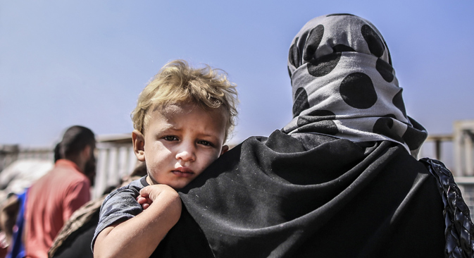 As Europe searches for ways to cope with thousands of migrants fleeing the violence in Syria, Russia remains an unattractive destination for those seeking asylum. Source: Getty images