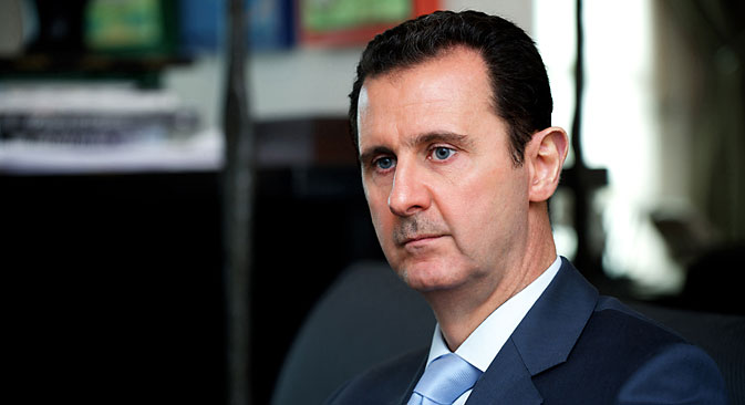 Syrian President Bashar al-Assad. Source: AFP/East News
