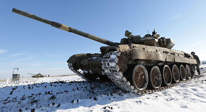 If the tests are successfully completed, the Russian military will receive stealth tanks that can be operated at low temperatures, such as in the Arctic. Source: Dmitry Rogulin / TASS