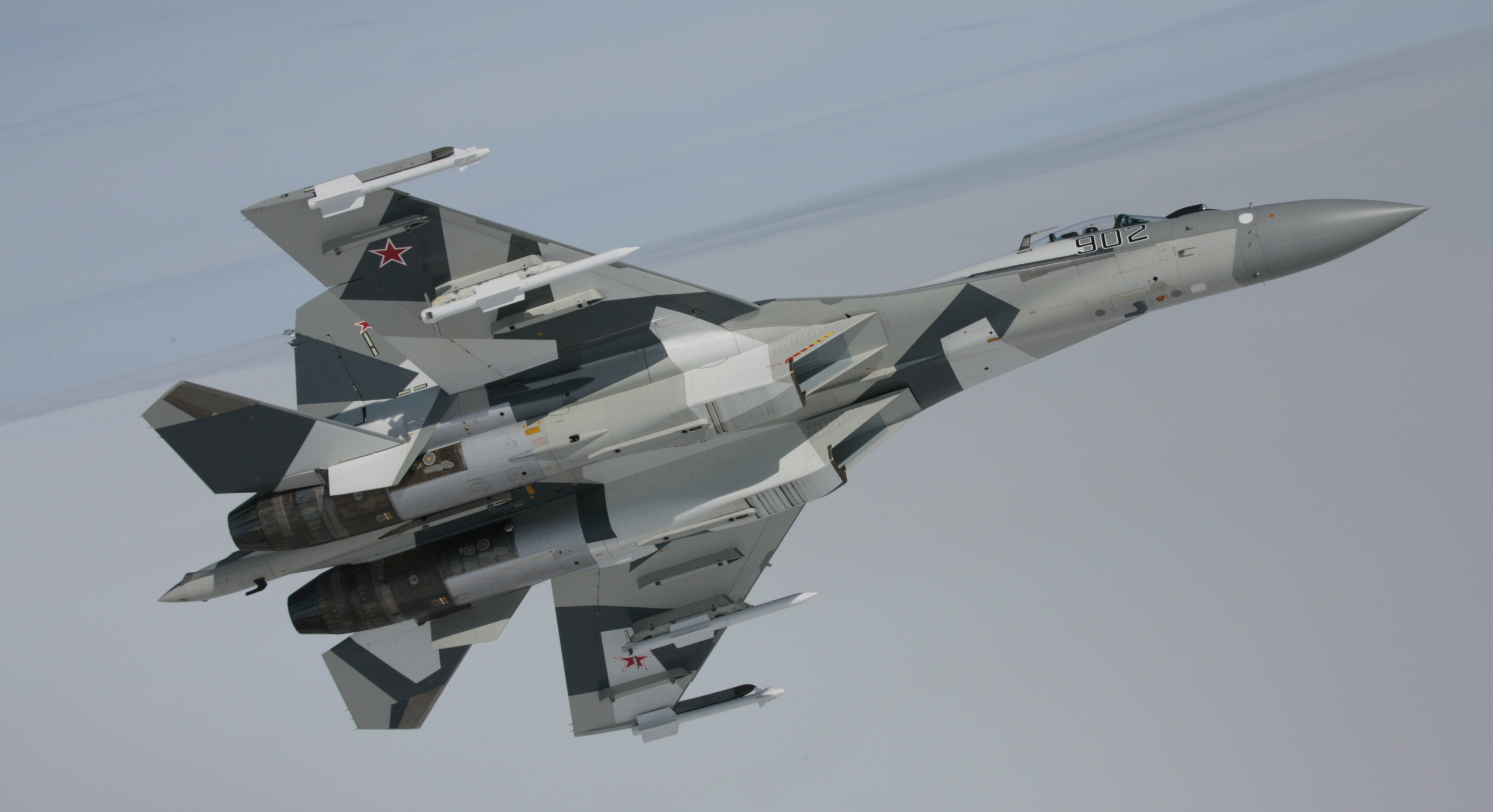 The Sukhoi Su-30/35. Source: Press Photo