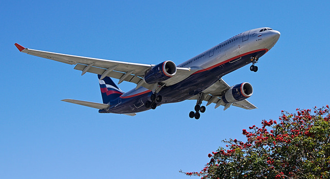 Aeroflot Airbus A330. Source:  cclark395 / Flicr