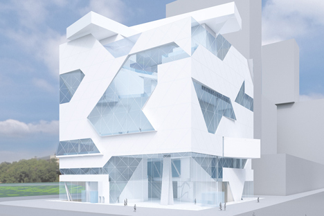 The new museum center, which is planned to be open by 2022, will be part of the ZILART residential complex. Source: Press photo