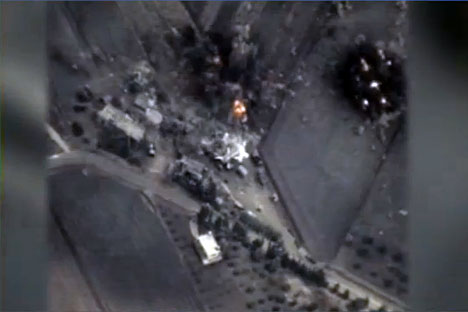 Russian Aerospace Forces engaged another four ISIS facilities this night. Source: Ministry of Defense of the Russian Federation