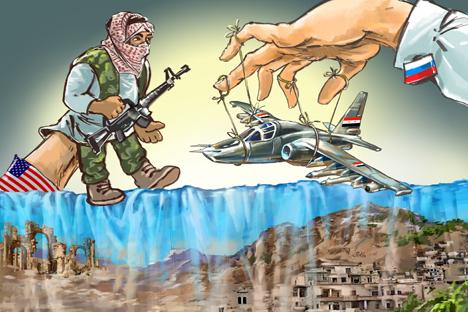 """Сирийското """"активно мероприятие"""" на Русия я поставя в изгодно положение – тя може да не зависи от мнението на западните страни по повод начините за борба с ИД."""