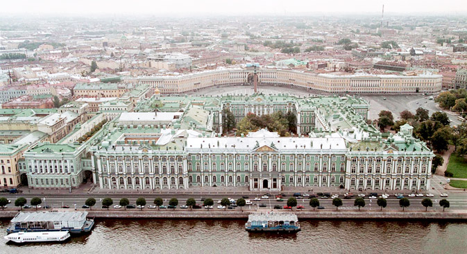 State Hermitage Museum. Source: AP