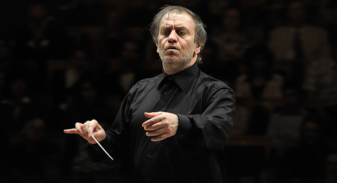 When the Ministry of Culture named Gergiev as the competition's chairman in 2011, it hoped that the conductor would make fundamental changes to the system. Source: ITAR-TASS/Interpress