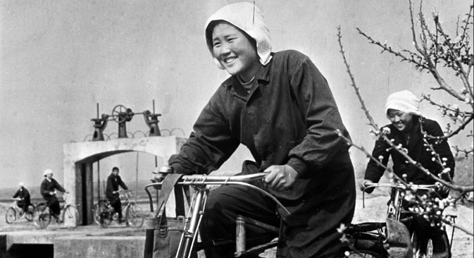 A Korean farmer in the USSR. Source: RIA Novosti