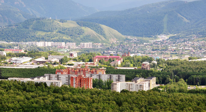 The Siberian city Krasnoyarsk is competing to host the first Low Carbon Model Town. Source: Lori/Legion Media