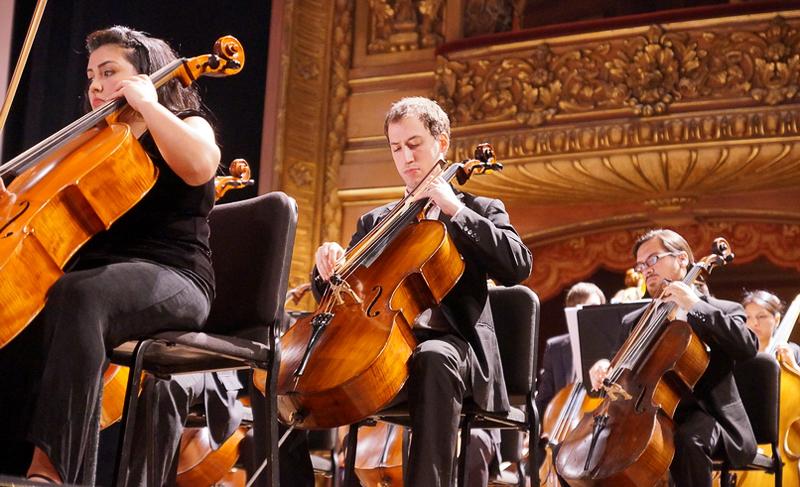La Orquesta Académica del Instituto Superior de Arte del Teatro Colón inaugura el festival.
