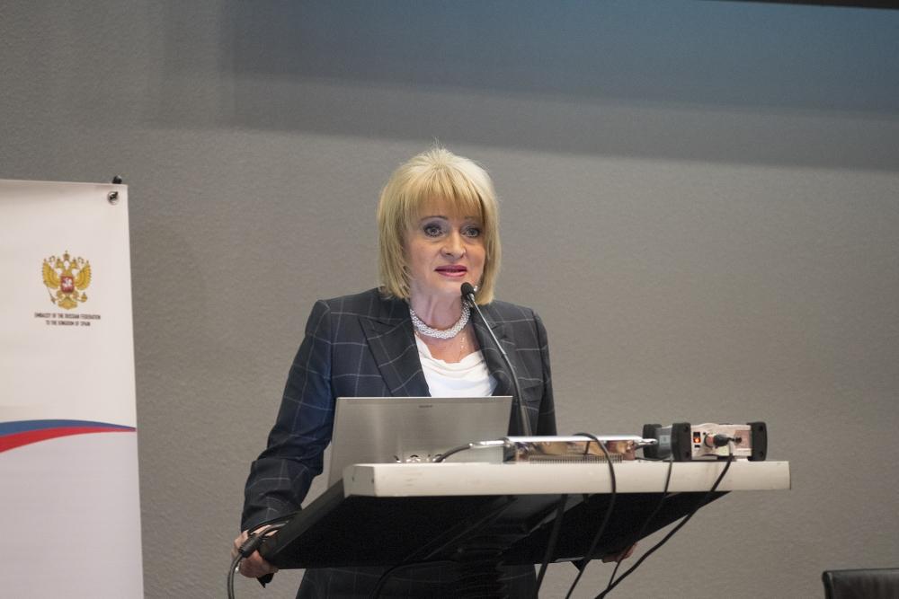 Alla Manilova, Viceministra de Cultura de la Federación de Rusia